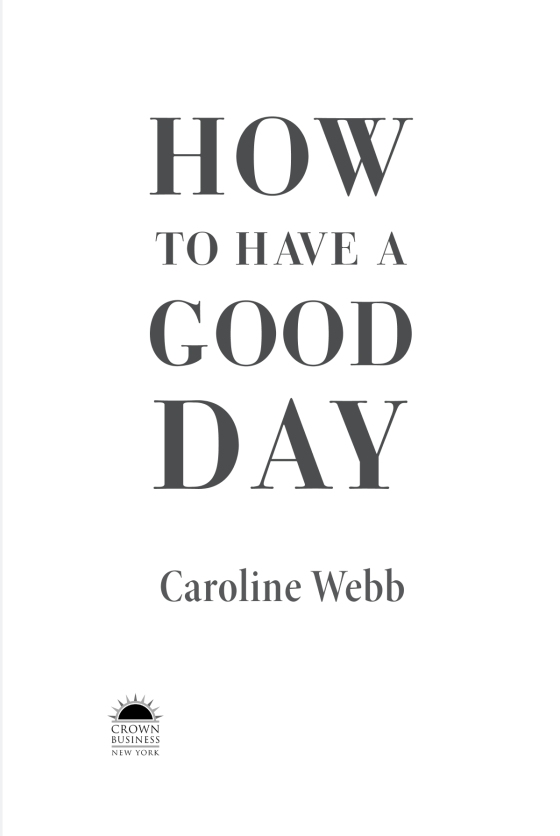 How To Have A Good Day Penguin Random House Common Reads