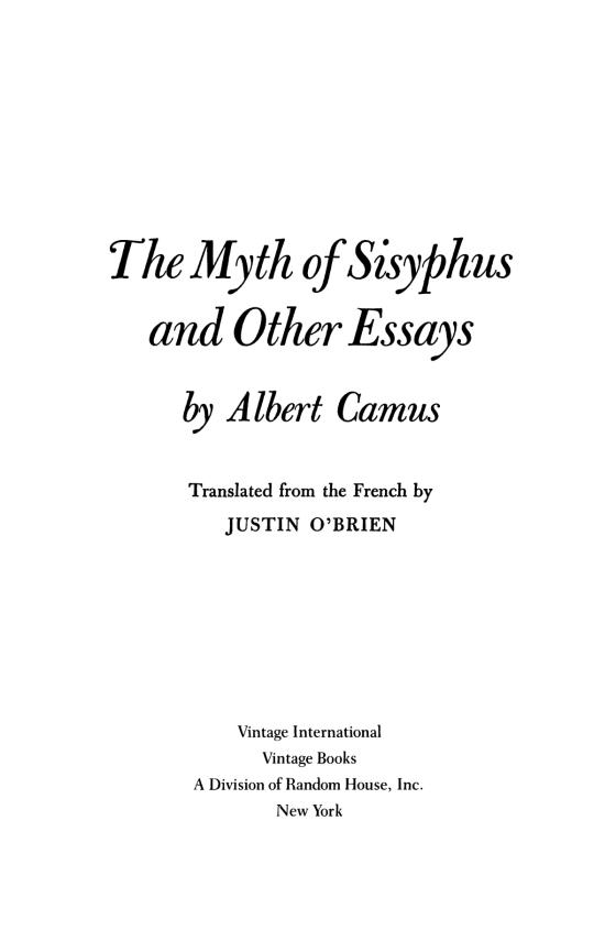 Synthesis Essay Ideas  Interesting Persuasive Essay Topics For High School Students also Apa Essay Paper The Myth Of Sisyphus  Penguin Random House International Sales What Is A Thesis Of An Essay