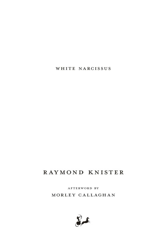 white narcissus knister raymond callaghan morley