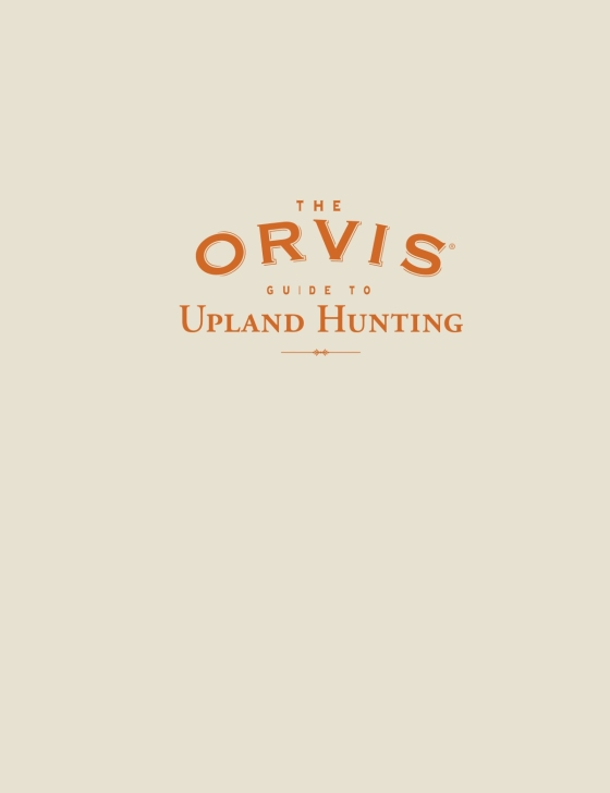 2afe84ce4222c The Orvis Guide to Upland Hunting - Penguin Random House Retail