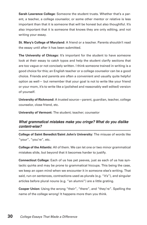 Environmental Science Essays Sample Page Sample Page English Composition Essay also English Essay Com College Essays That Made A Difference Th Edition  The Princeton  Interesting Essay Topics For High School Students