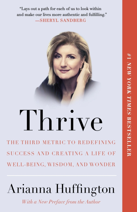 Arianna huffington thrive trade paperback fandeluxe Gallery