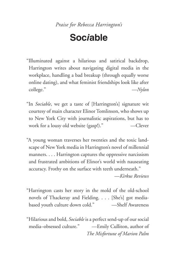 Sociable - Penguin Random House Common Reads