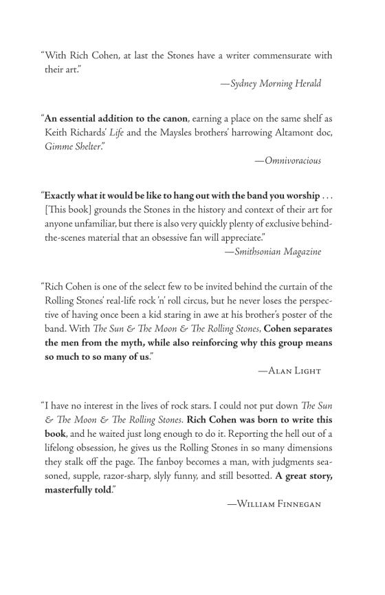 The Sun The Moon The Rolling Stones Penguin Random House Education