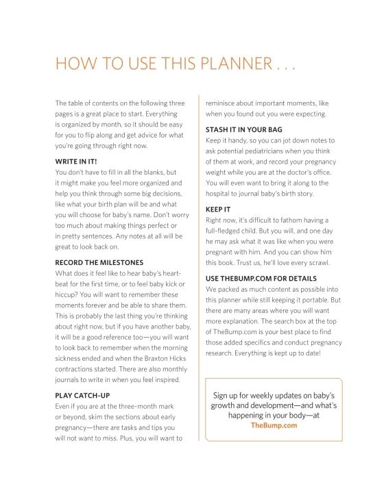 The Bump Pregnancy Planner & Journal - Penguin Random House Retail