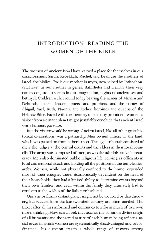 Reading the Women of the Bible - Penguin Random House Education