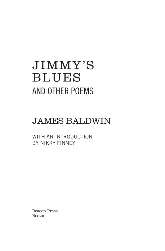 Jimmys Blues And Other Poems Penguin Random House