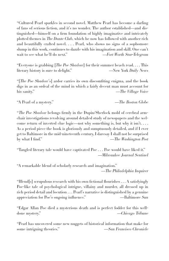 The Poe Shadow Penguin Random House Education