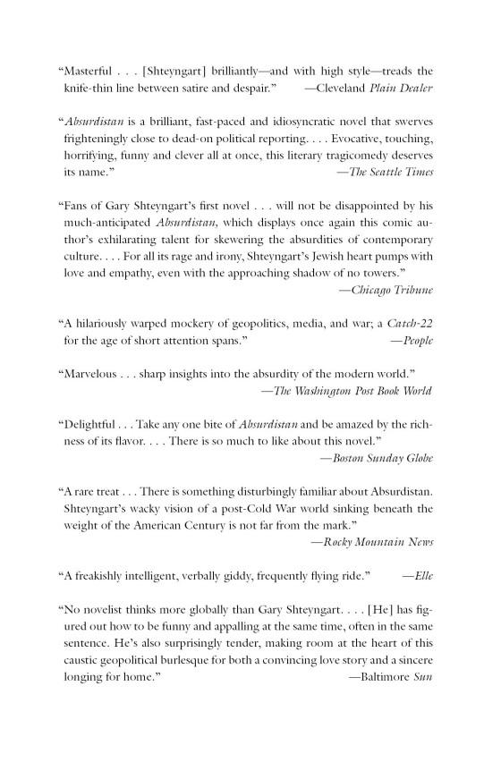 Absurdistan - Penguin Random House Education