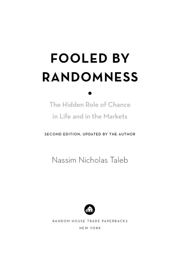 Fooled By Randomness Penguin Random House Education