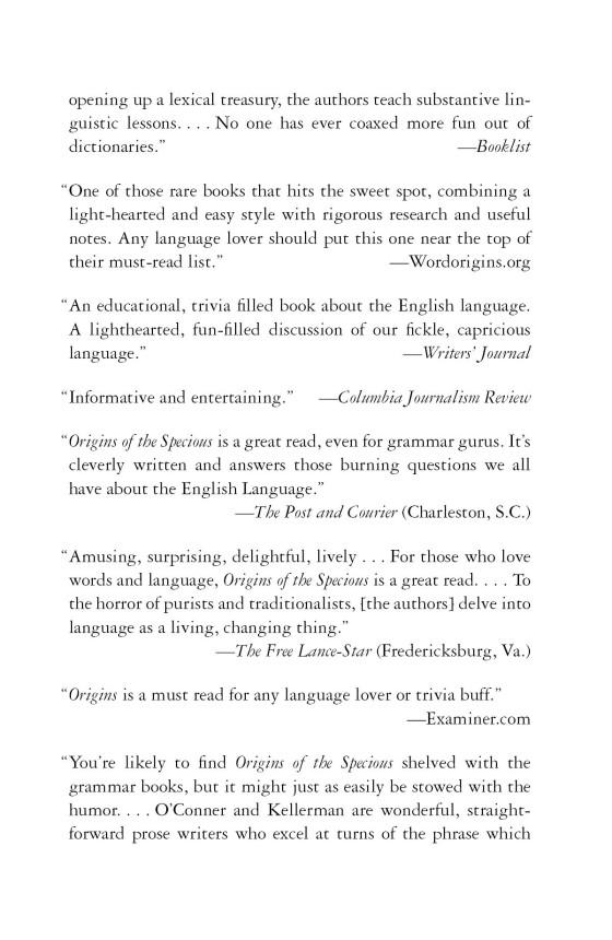 Origins Of The Specious Penguin Random House Education