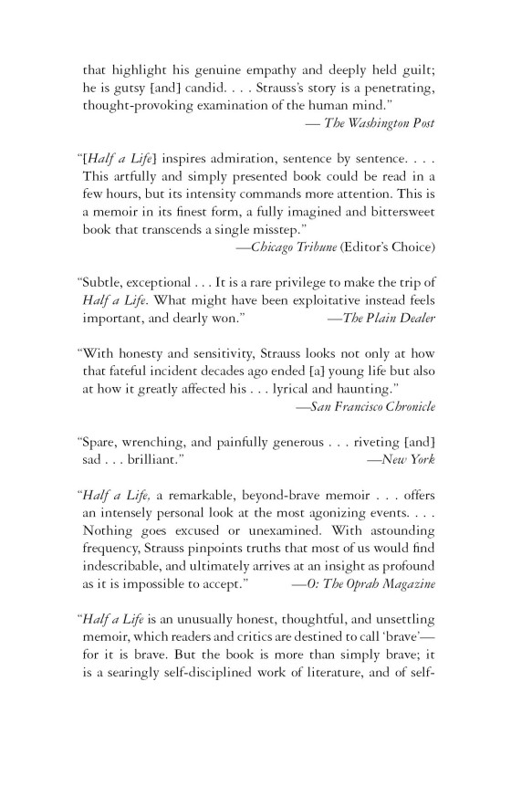 Half a Life - Penguin Random House Education
