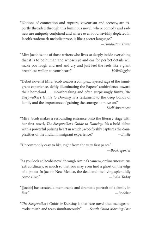 The Sleepwalker's Guide to Dancing - Penguin Random House