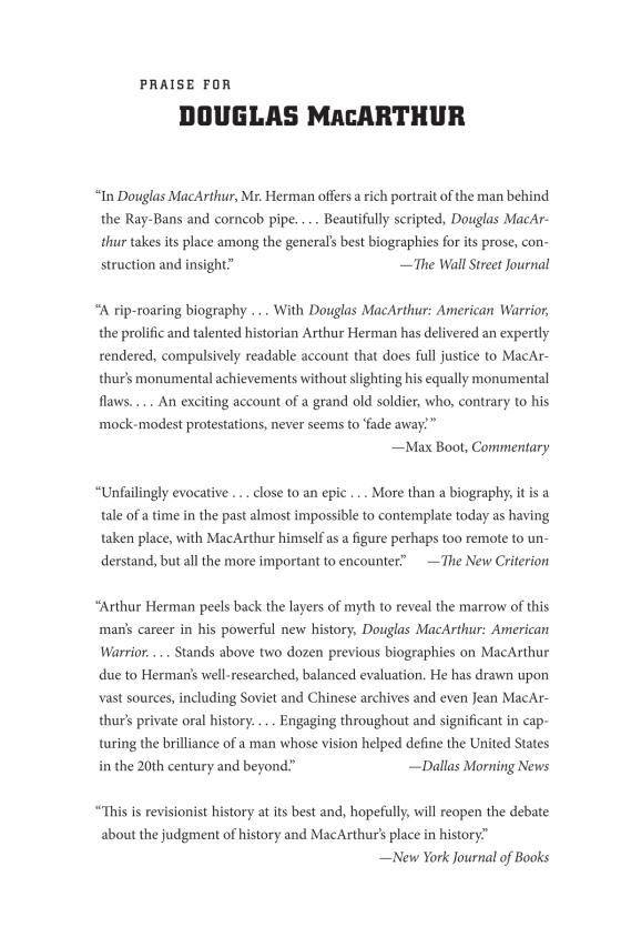 douglas macarthur achievements