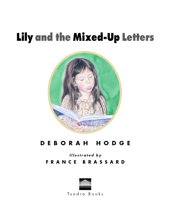 lily and the mixed up letters penguin random house education