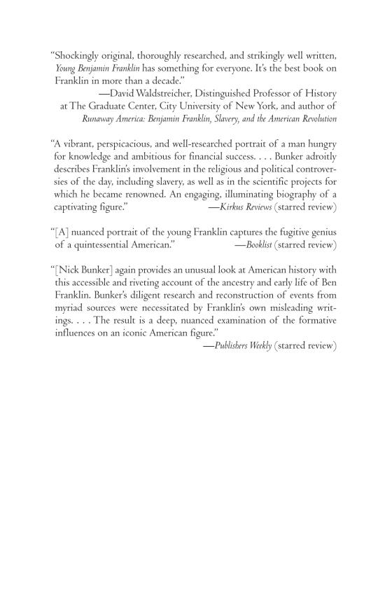 Young Benjamin Franklin - Penguin Random House Education