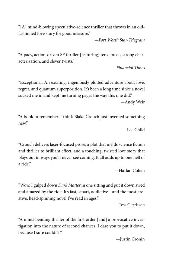 Dark Matter - Penguin Random House Retail