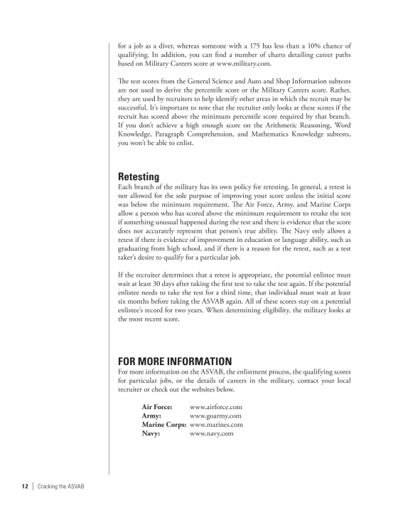 Cracking the ASVAB, 4th Edition | Penguin Random House