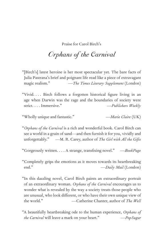 Orphans Of The Carnival Penguin Random House Education