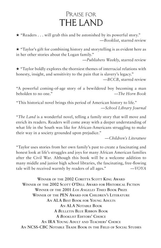 The Land - Penguin Random House Common Reads