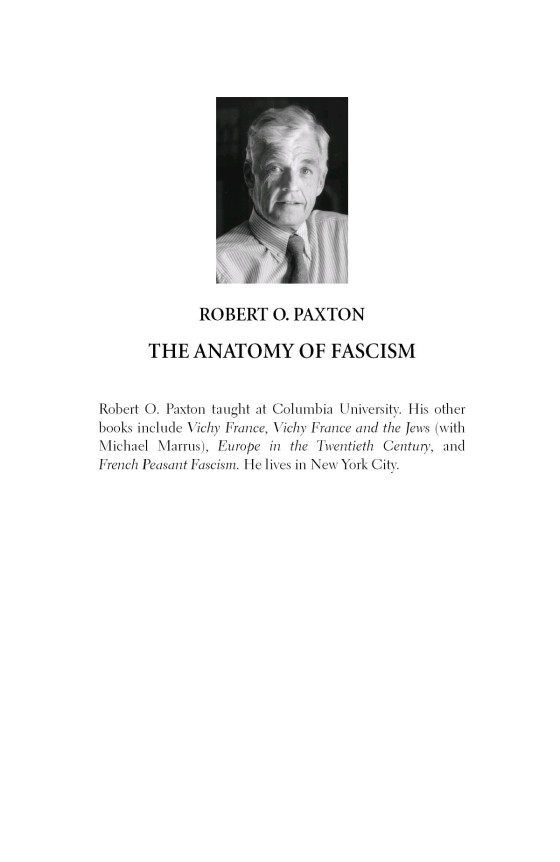 The Anatomy Of Fascism Penguin Random House Education