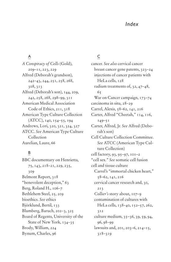 The Immortal Life of Henrietta Lacks - Penguin Random House