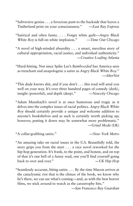 Angry Black White Boy - Penguin Random House Education