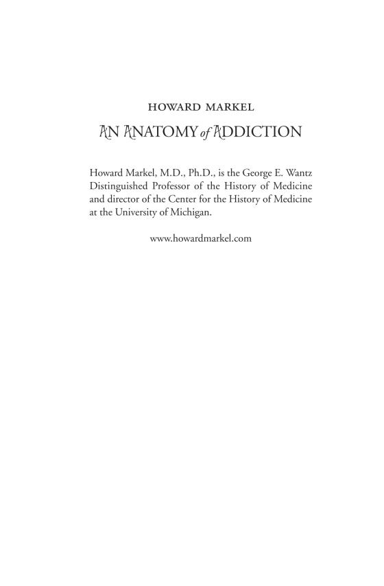 An Anatomy Of Addiction Penguin Random House Education