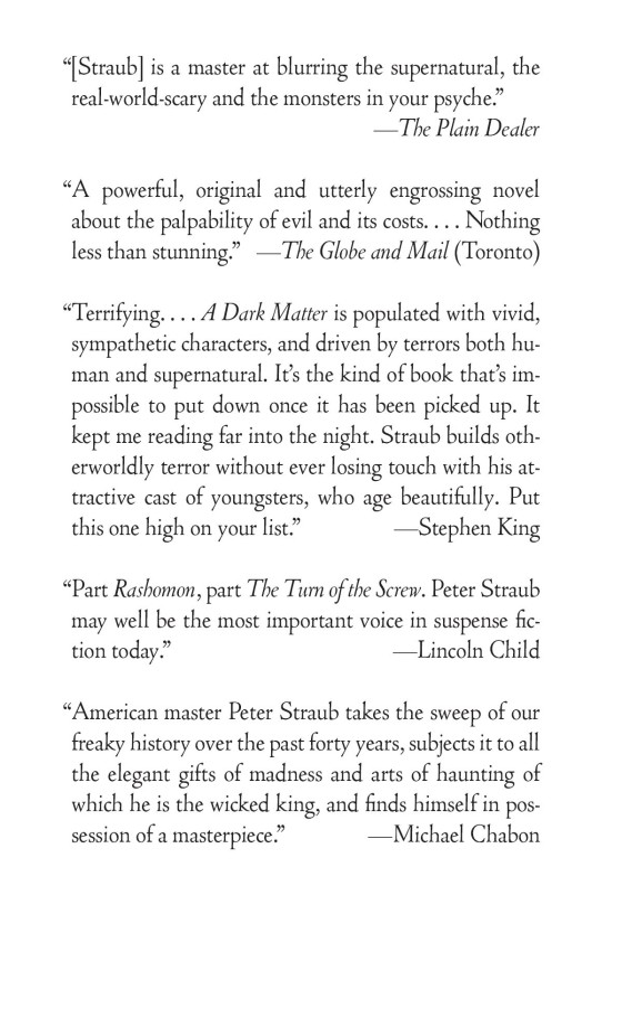 A Dark Matter - Penguin Random House Education