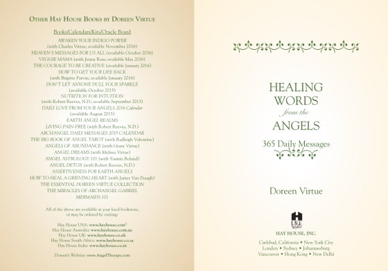 Healing Words From The Angels - Penguin Random House Retail