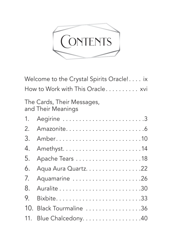 Crystal Spirits Oracle - Penguin Random House Retail