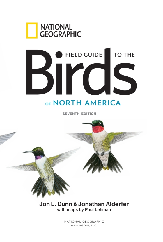 National Geographic Field Guide To The Birds Of North America 7th