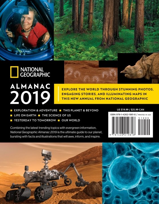 National Geographic Almanac 2019 | Penguin Random House