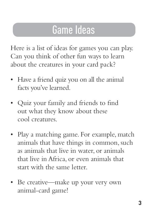True or False Animal Cards - Penguin Random House Retail