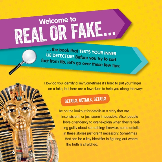 Real or Fake? 2 - Penguin Random House Retail