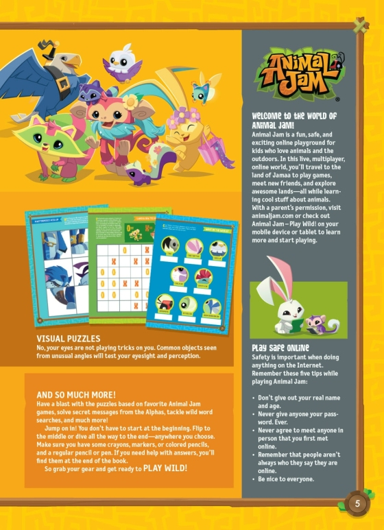 Animal Jam Activity Book | Penguin Random House International Sales