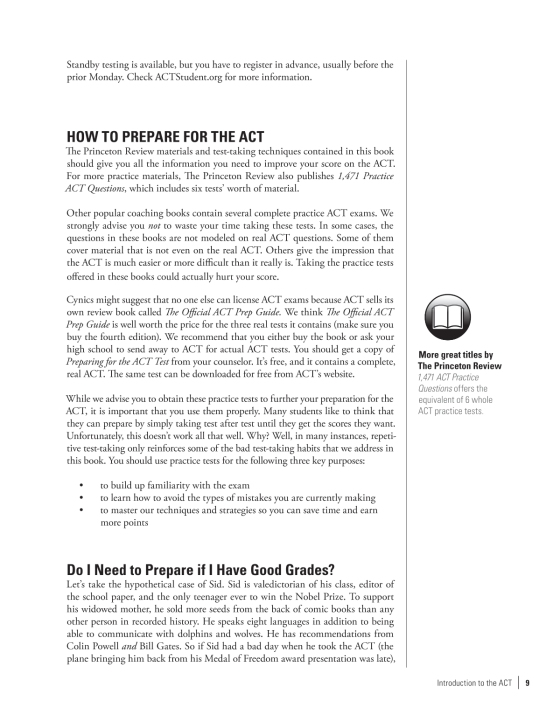 Cracking the ACT with 6 Practice Tests, 2018 Edition | Penguin