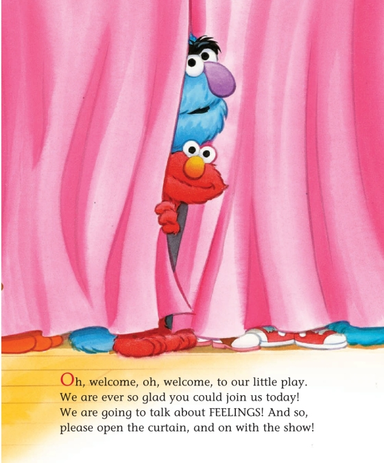 Happy and Sad, Grouchy and Glad (Sesame Street) - Penguin