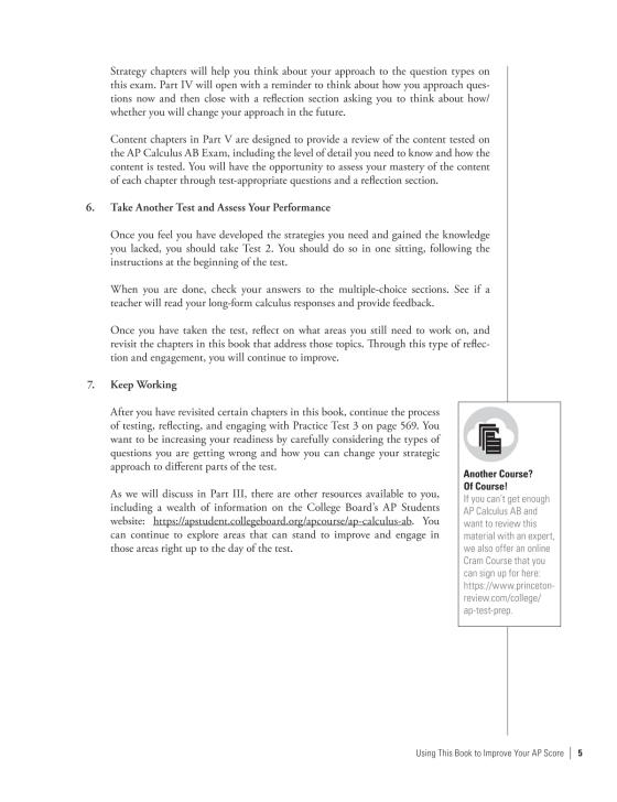 Cracking the AP Calculus AB Exam, 2019 Edition | Penguin Random