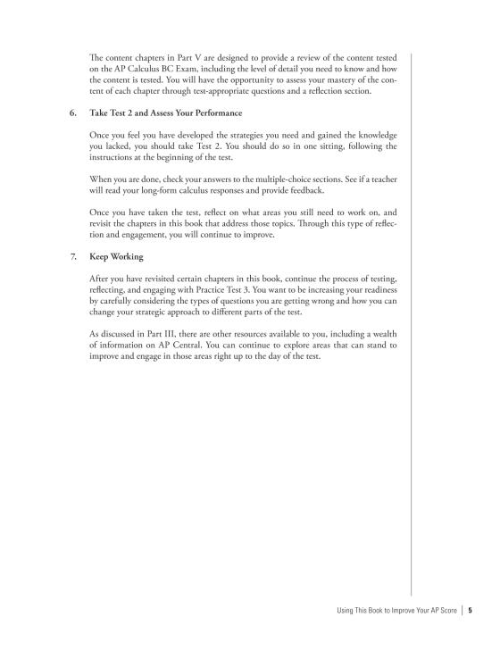 Cracking the AP Calculus BC Exam, 2019 Edition | Penguin Random