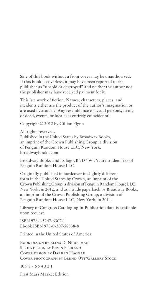 Gillian Flynn - Gone Girl - Paperback