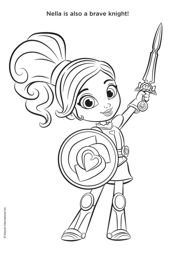 Nella S Sticker Adventure Nella The Princess Knight