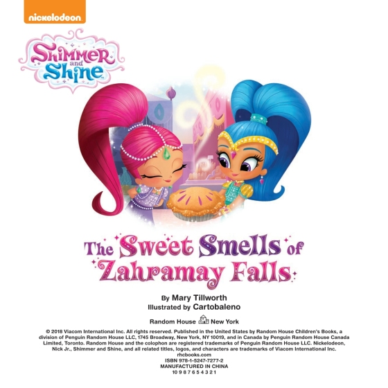 The Sweet Smells Of Zahramay Falls (Shimmer And Shine