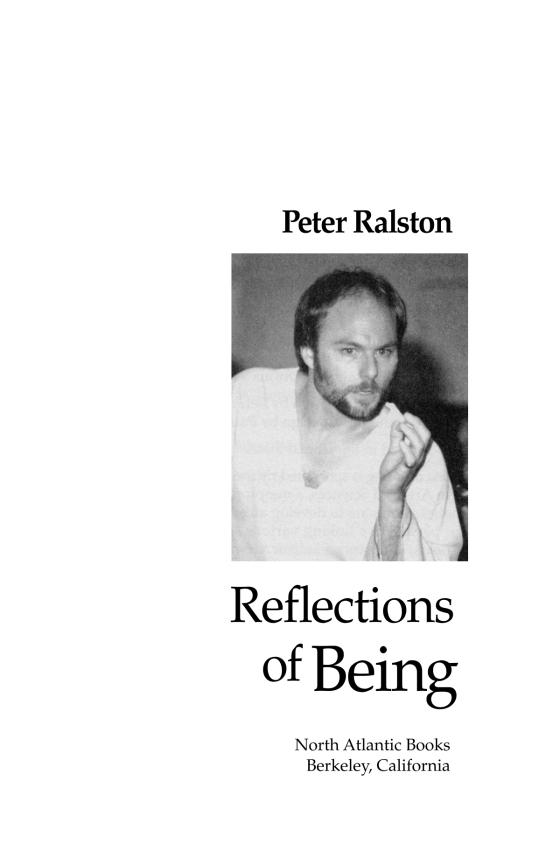 zen body being ralston peter ralston laura