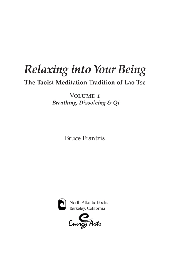 Relaxing into Your Being - Penguin Random House Retail