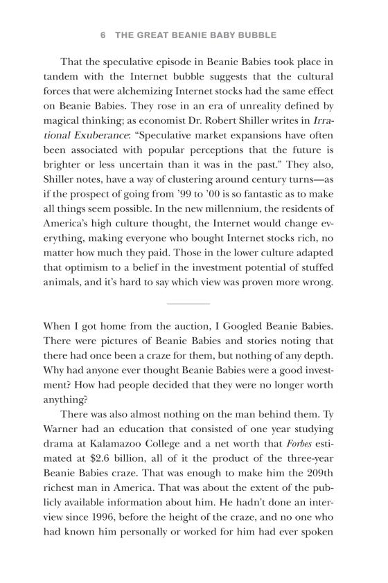 587f475fe09 The Great Beanie Baby Bubble - Penguin Random House Education