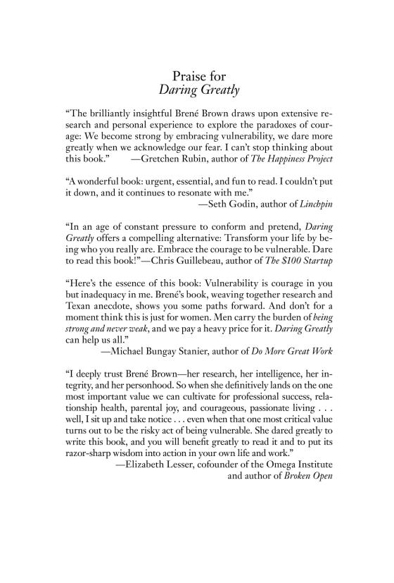 Daring Greatly - Penguin Random House Education
