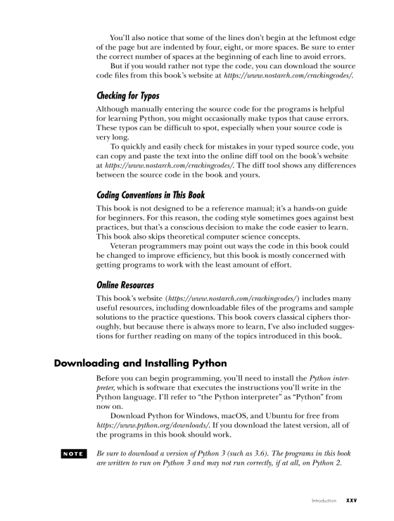 Cracking Codes with Python | Penguin Random House