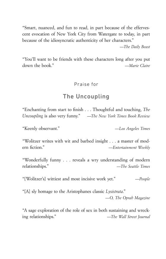 Meg Wolitzer The Interestings Trade Paperback