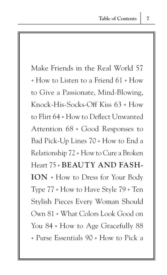 Stuff Every Woman Should Know - Penguin Random House Retail
